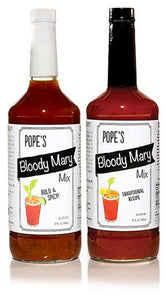 2 Pack - Bloody Mary - 1 each Bold & Spicy  and Traditional