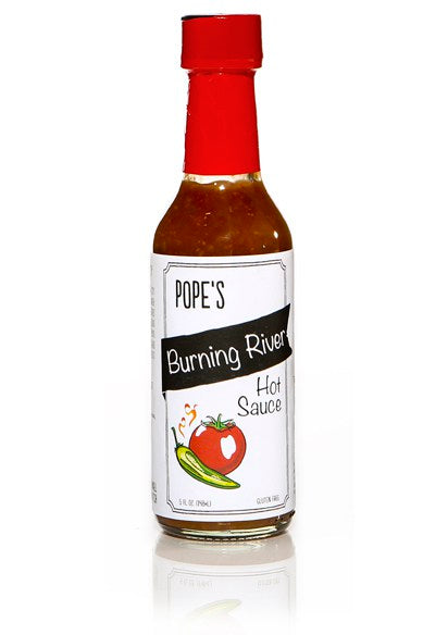 Pope's Burning River Hot Sauce