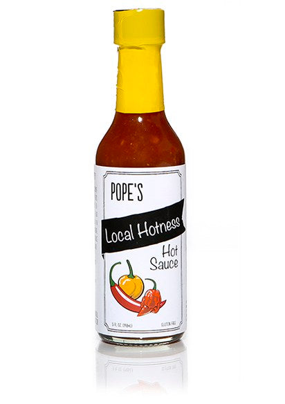 Pope's Local Hotness Hot Sauce