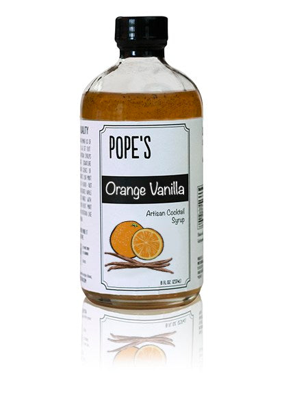 Pope's Orange Vanilla Syrup