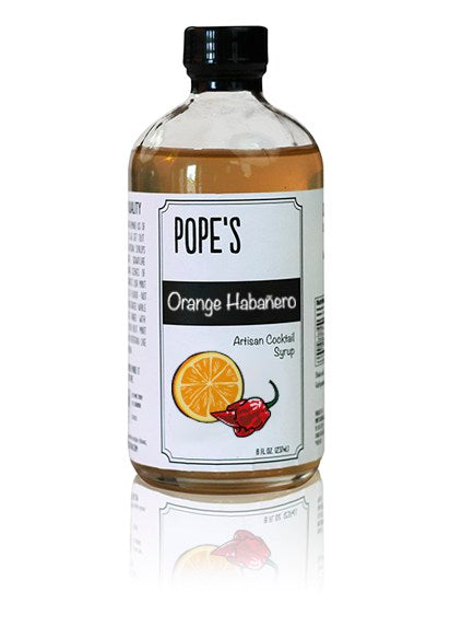 Pope's Orange Habanero Syrup