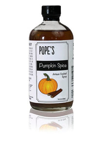 Pope's Pumpkin Spice Syrup