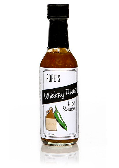 Pope's Whiskey River Hot Sauce