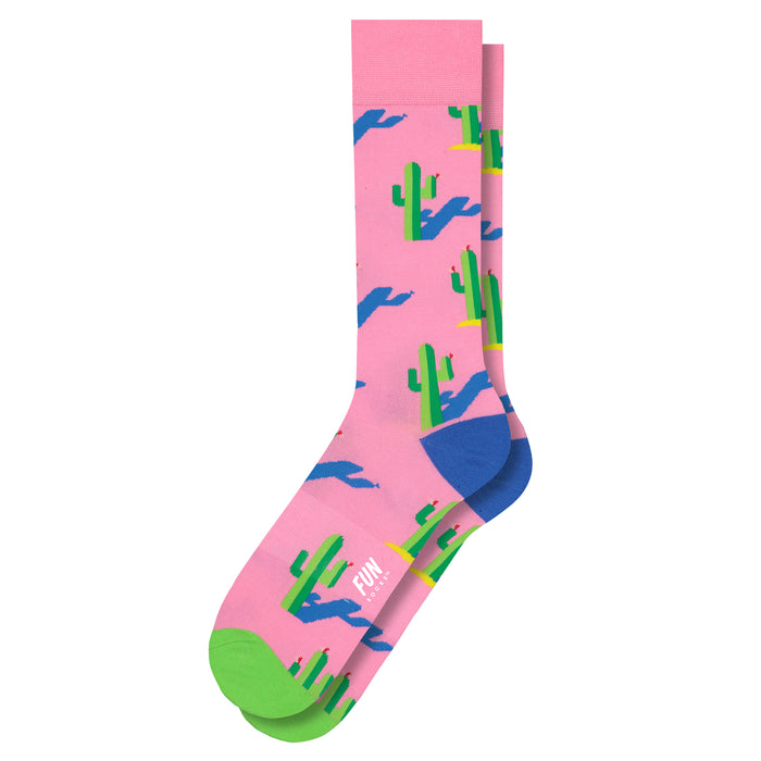 Men's Cactus Crew Sock