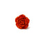 Coral Splash Rose Lapel Pin
