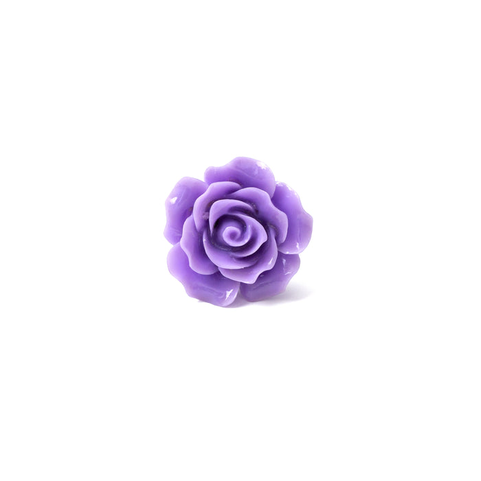Purple Rose Lapel Pin
