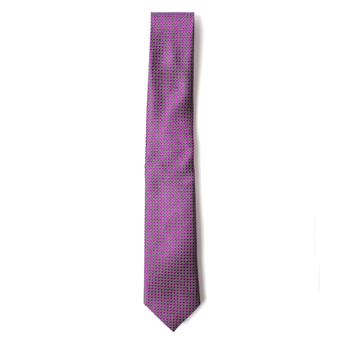 Purple Textured Dot Tie