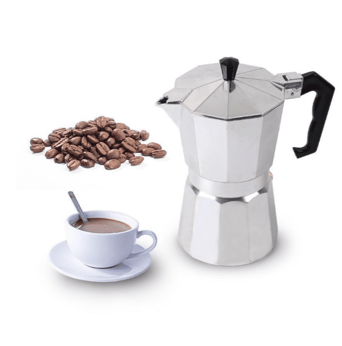 Aluminum Coffee Maker