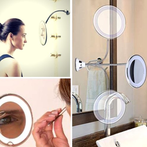 Gooseneck Flexible Makeup Mirror
