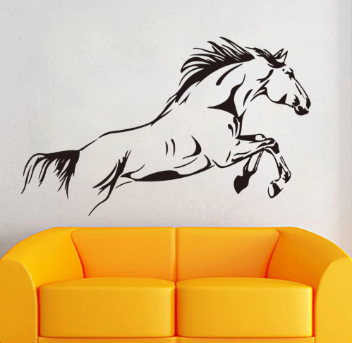 Handmade Wall Art - Horse Racing