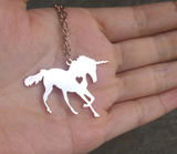 Personal Engraved - Unicorn Necklace