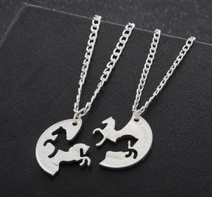 Handmade Horse Necklaces Collection