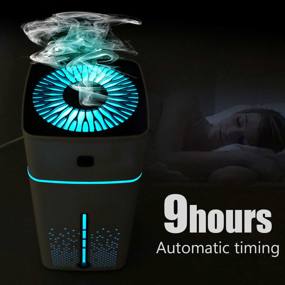 Portable Ultrasonic Humidifier for  Viruses