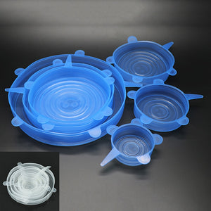 Silicone Food Wrap/6 pcs