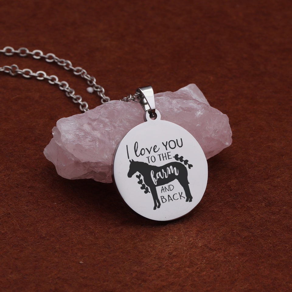 Horse Lover Necklace