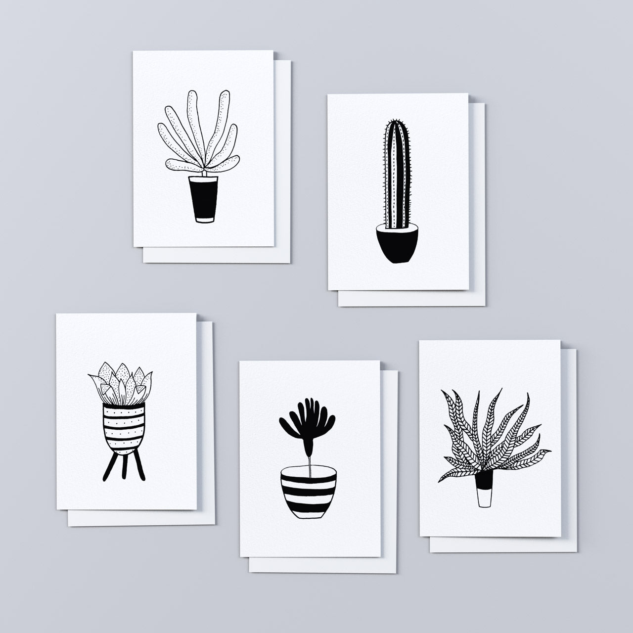 'All the Plants' Note Cards, 3.5