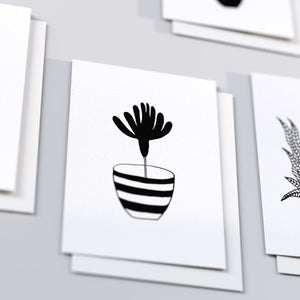 "'All the Plants' Note Cards, 3.5"" x 5"" set of five"