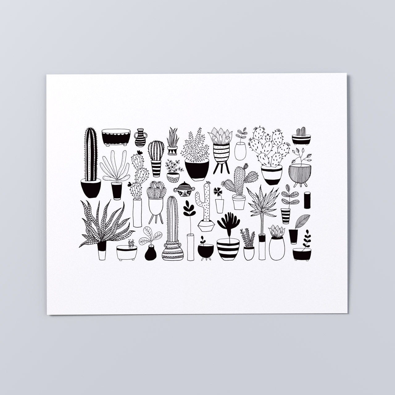 'All the Plants' Print, multiple sizes