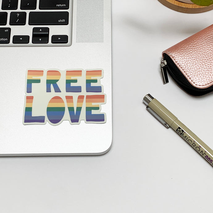 Free Love Sticker