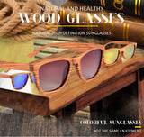 The HD Zebrawood Sunglass