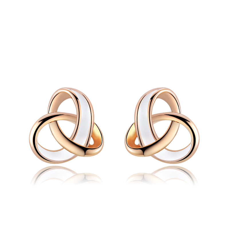 ROXI Brand Earring For Women Rose Gold Color Fashion Jewelry