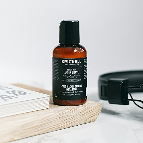 The Panic Room presents Brickell Instant Relief Aftershave