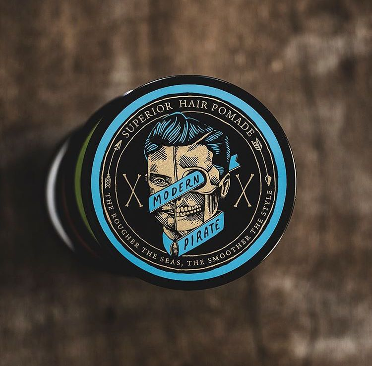 The Panic Room presents Modern Pirate Superior Hair Pomade