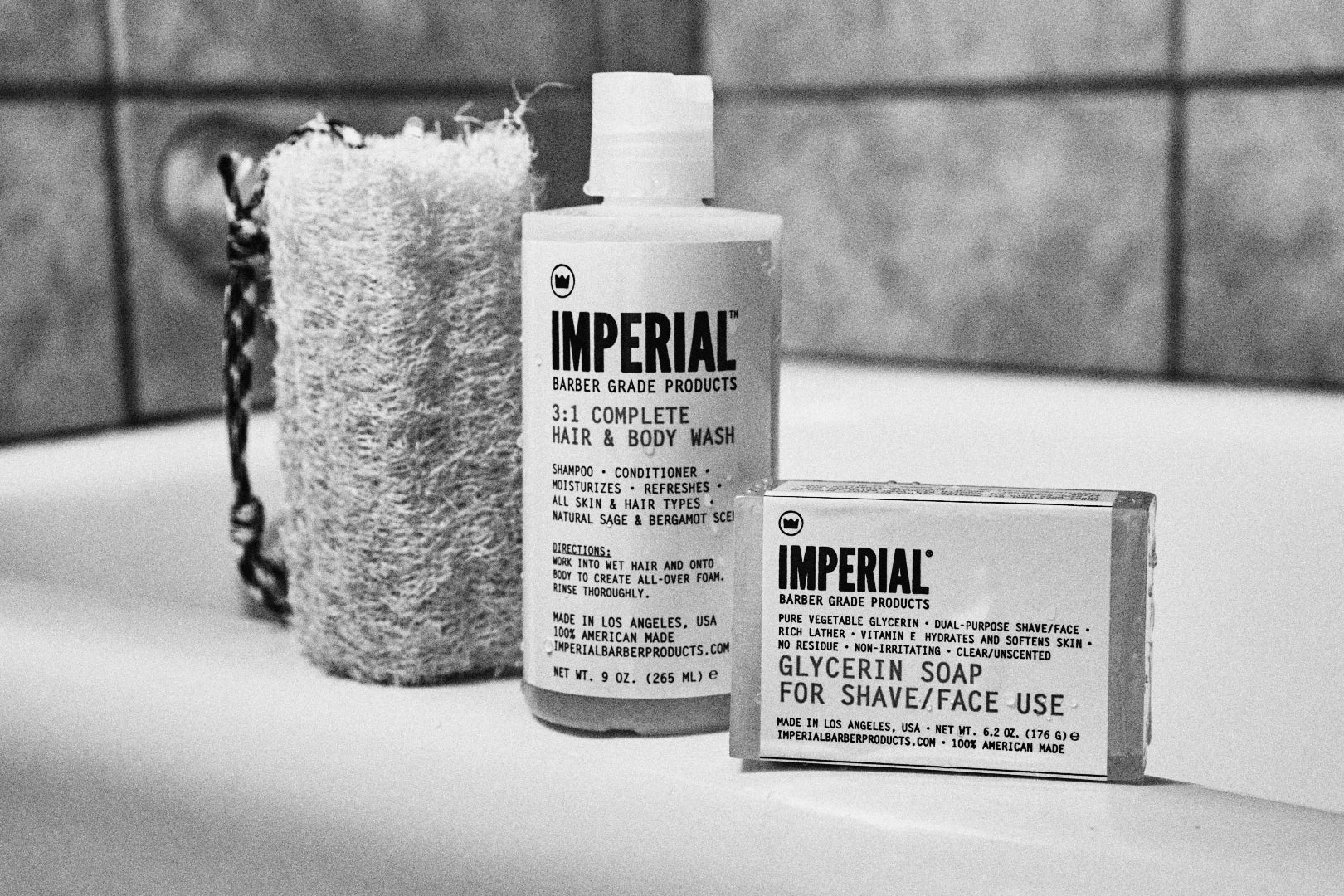 The Panic Room presents Imperial Glycerin Shave Soap