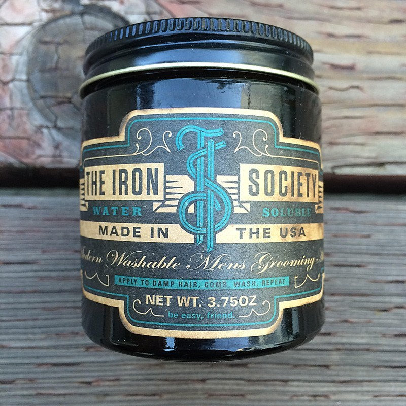 The Panic Room presents The Iron Society Water Soluble Pomade