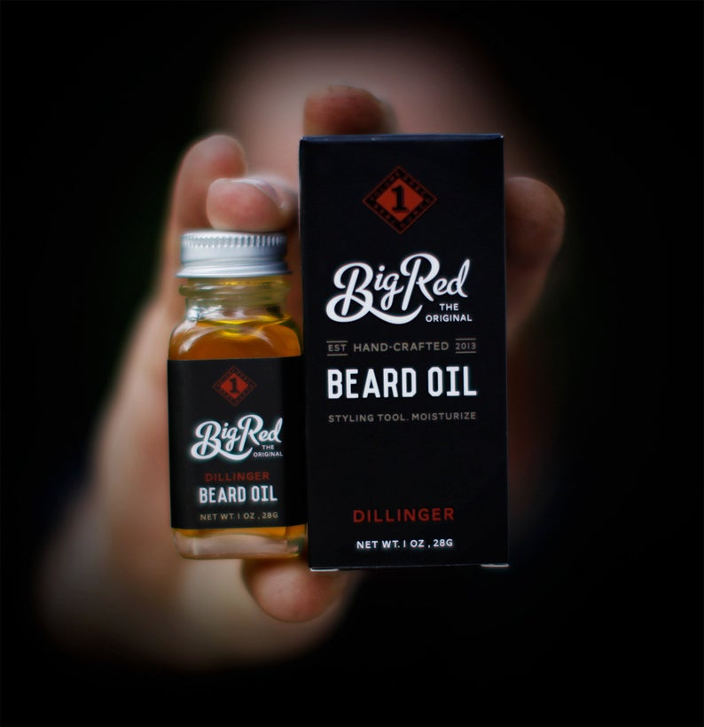 The Panic Room presents Big Red Beard Oil