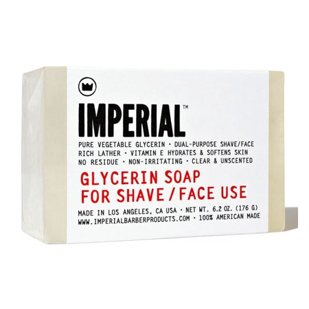 Imperial Barber Grade Products - Glycerin Shave/Face Soap Bar