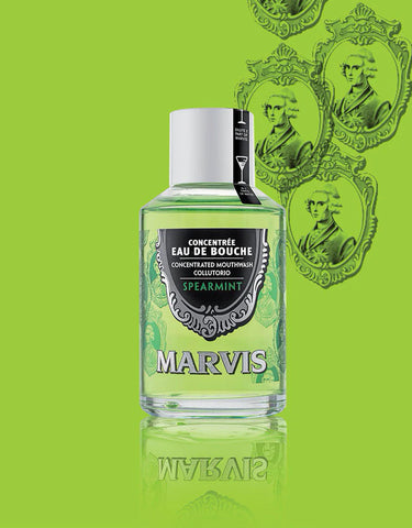 Marvis - Spear Mint Mouthwash, 120ml