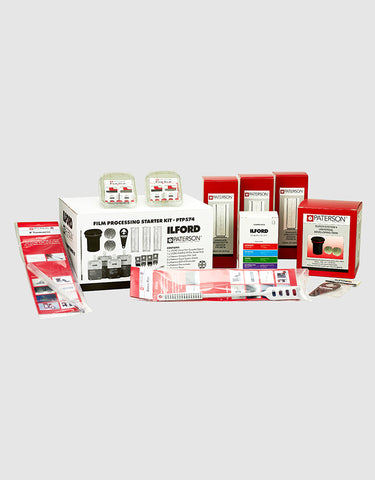 Ilford & Paterson Film Processing Starter Kit