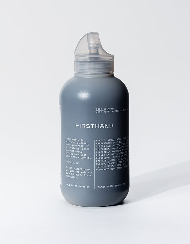 Firsthand Supply - Activated Charcoal Body Cleanser, 300ml