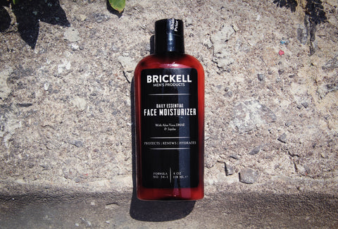 Brickell Men's Products - Daily Essential Face Moisturizer