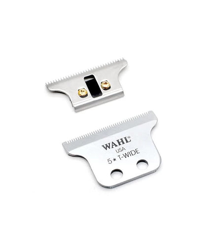 "Wahl - Replacement Blade Set, 5 Star Series Detailer Professional Corded Trimmer, ""T"" Wide Blade"