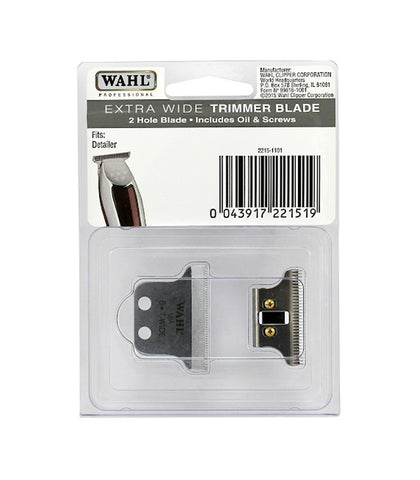"Wahl - Replacement Blade Set, 5 Star Series Detailer Li, Detailer Corded Trimmer, ""T"" Wide Blade"