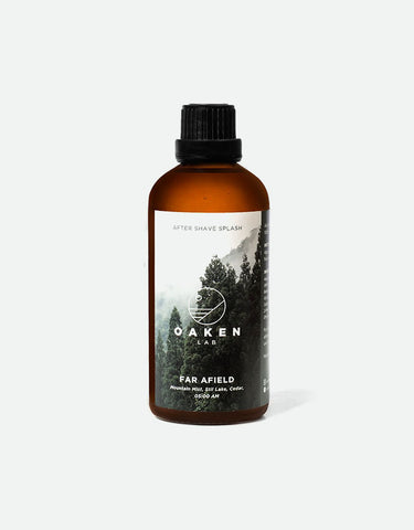 Oaken Lab - Aftershave Splash, Far Afield, 100ml