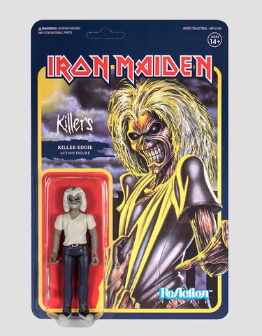 Super7 - Iron Maiden ReAction Figure - Killers Eddie