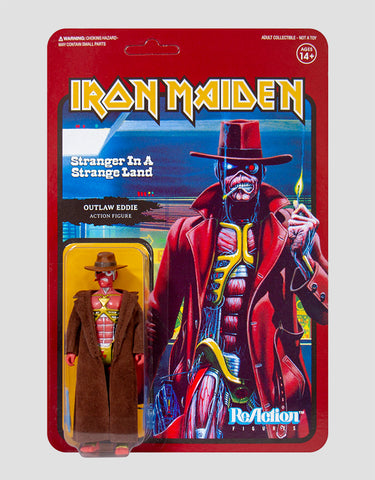 Super7 - Iron Maiden ReAction Figure - Stranger In A Strange Land (Single Art)