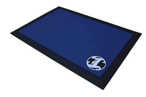 Irving Barber Co. - Work Station Mat, Blue