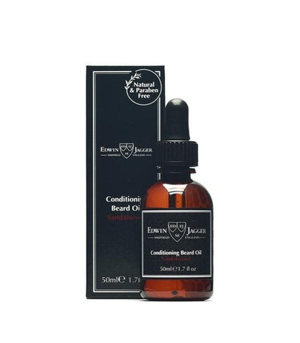 Edwin Jagger - Conditioning Beard Oil, Sandalwood, 50ml