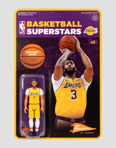 Super7 - NBA Supersports Figure - Anthony Davis (Lakers)