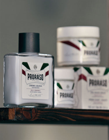 Proraso - Pre Shave Cream, Sensitive Green Tea, 100ml