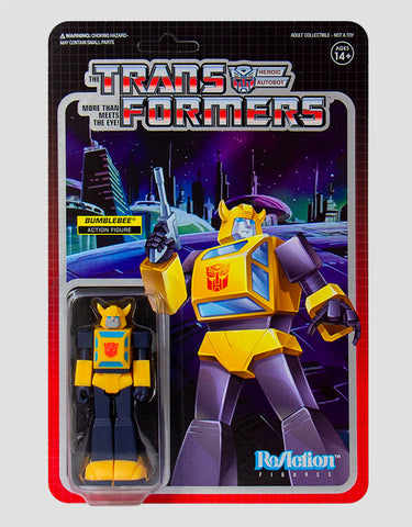 Super7 - Transformers ReAction Figure - Bumblebee