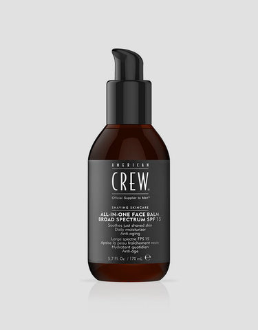American Crew - All-In-One Face Balm SPF 15, 170ml