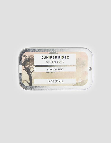 Juniper Ridge - Solid Perfume, Coastal Pine, 15ml