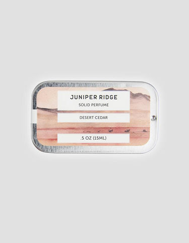Juniper Ridge - Solid Perfume, Desert Cedar, 15ml