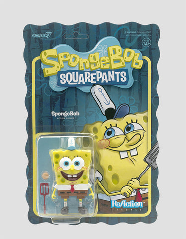 Super7 - SpongeBob SquarePants ReAction Wave 1 - SpongeBob