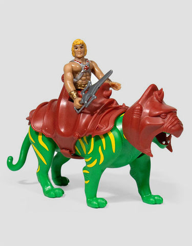 Super7 - Master of the Universe ReAction Figure - He-Man & Battle Cat
